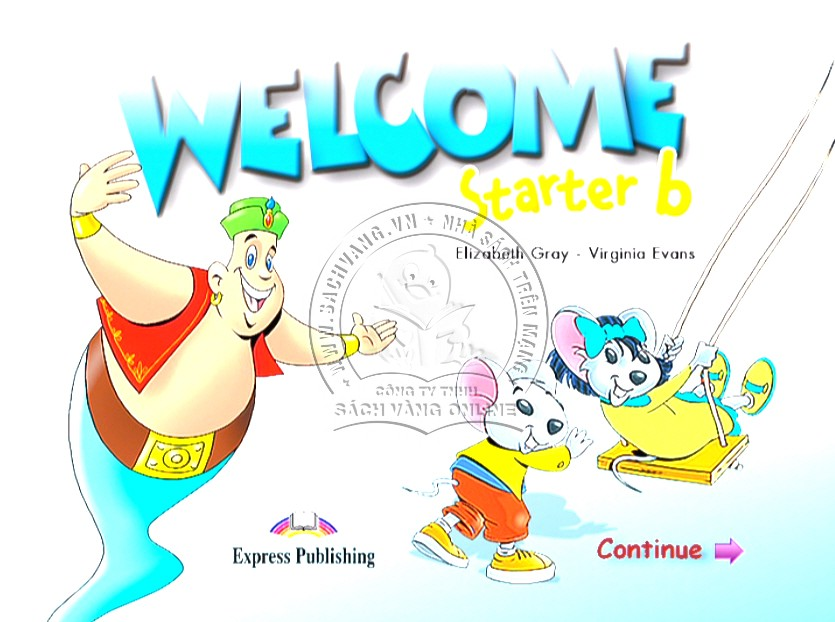 Welcome English Starter B