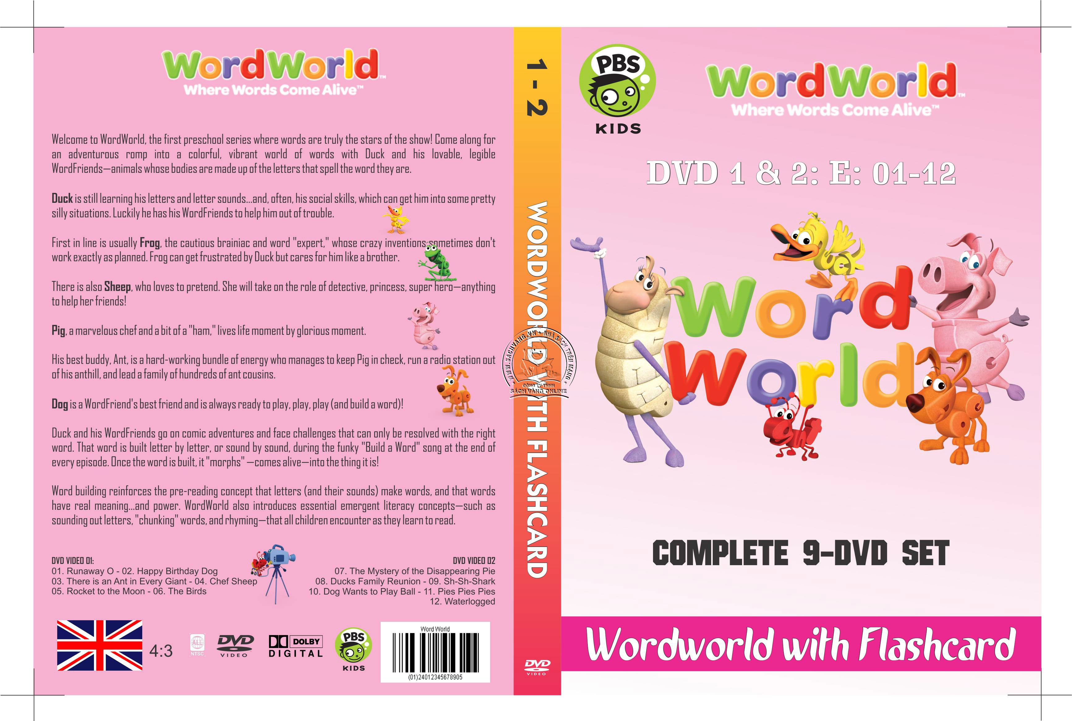 WordWorld With Flashcard cover