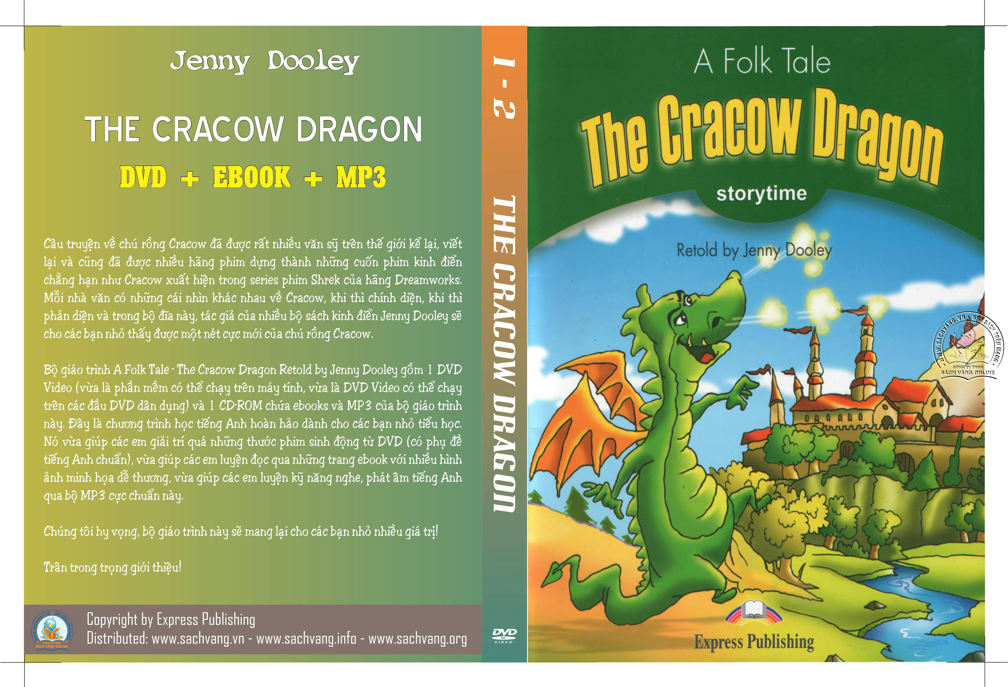 A Folk Tale - The Cracow Dragon Retold by Jenny Dooley cover