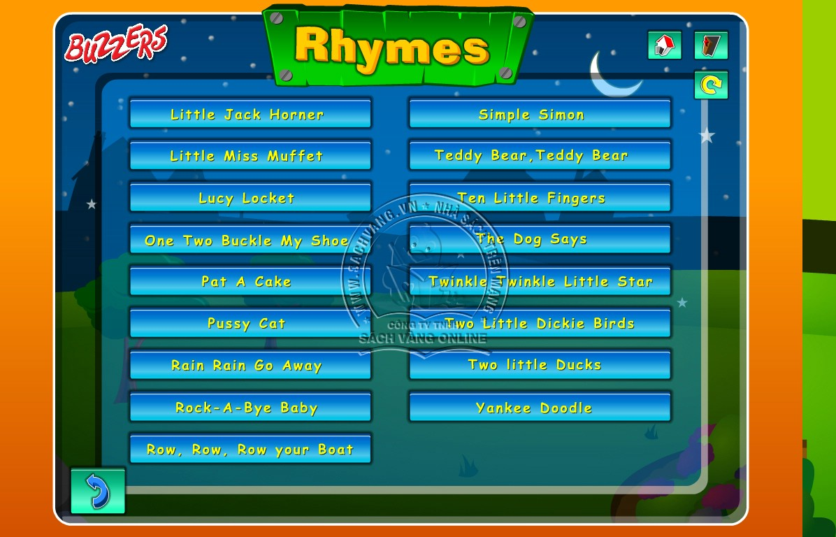 Buzzers Nursery Rhymes - 2
