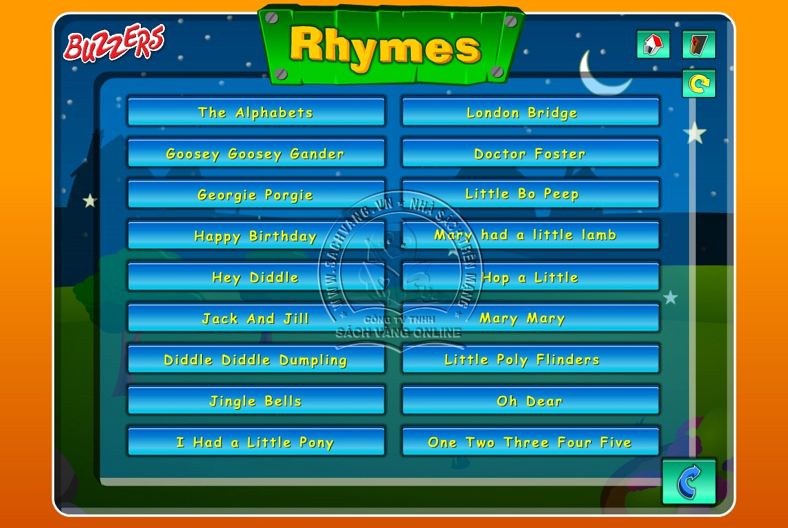 Buzzers Nursery Rhymes - 3