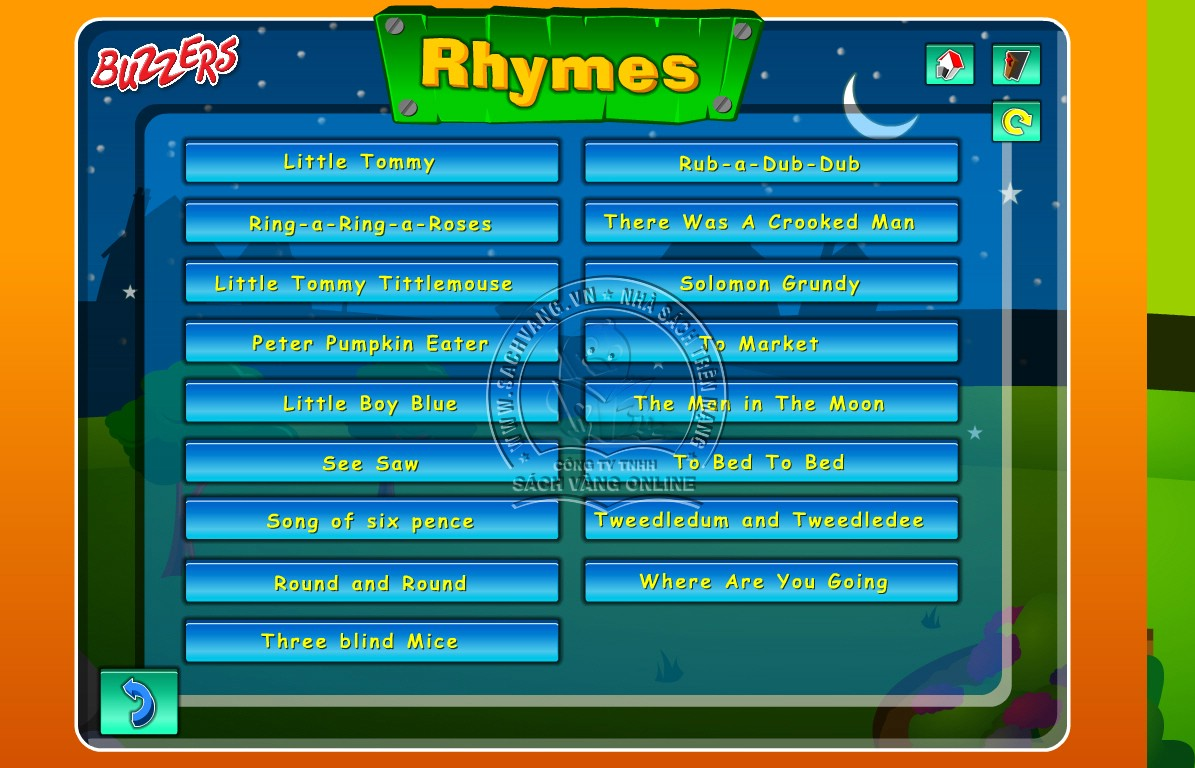 Buzzers Nursery Rhymes - 4