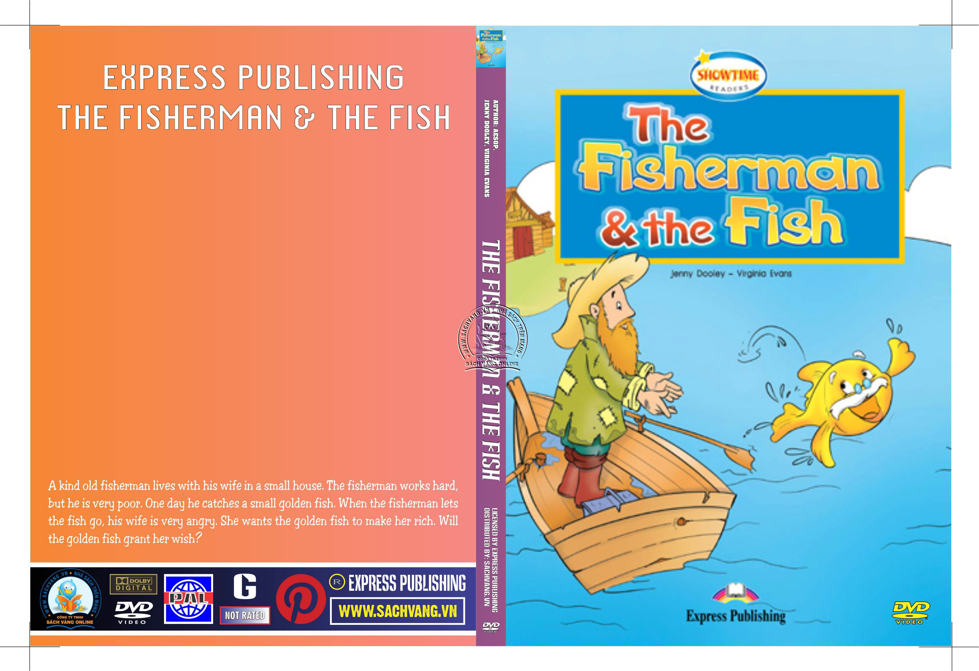 Express Publishing - The Fisherman and The Fish - Ông Lão Câu Cá Và Con Cá Vàng - cover