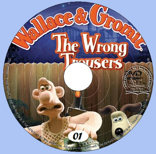 Wallace And Gromit - The Wrong Trousers lebel