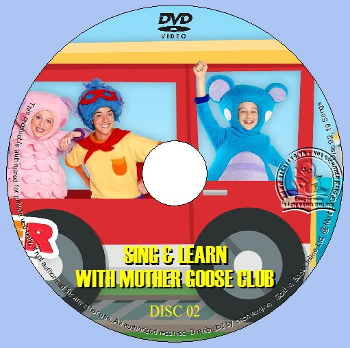Sing And Learn With Mother Goose Club lebel 02