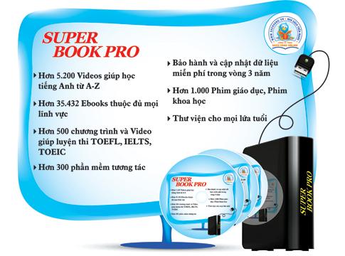 Superbook Pro giúp cho mọi thành viên trong gia đình học tiếng Anh cực kỳ hiệu quả