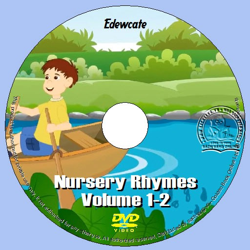 Edewcate - Nursery Rhymes Vol. 1-4 lebel 01