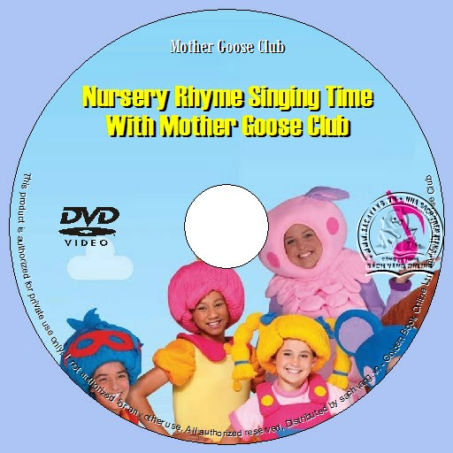 Nursery Rhyme Singing Time With Mother Goose Club lebel