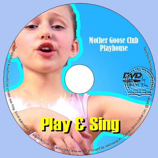 Play And Sing With Mother Goose Club Playhouse lebel