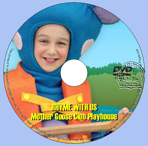 Rhyme With Us By Mother Goose Club Playhouse lebel