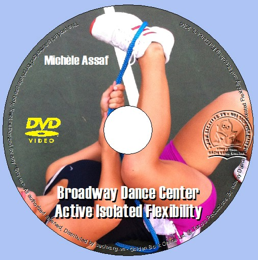 Broadway Dance Center - Active Isolated Flexibility and Stretching For Dancers - Kỹ Thuật Căng Cơ Cho Vũ Công dvd lebel