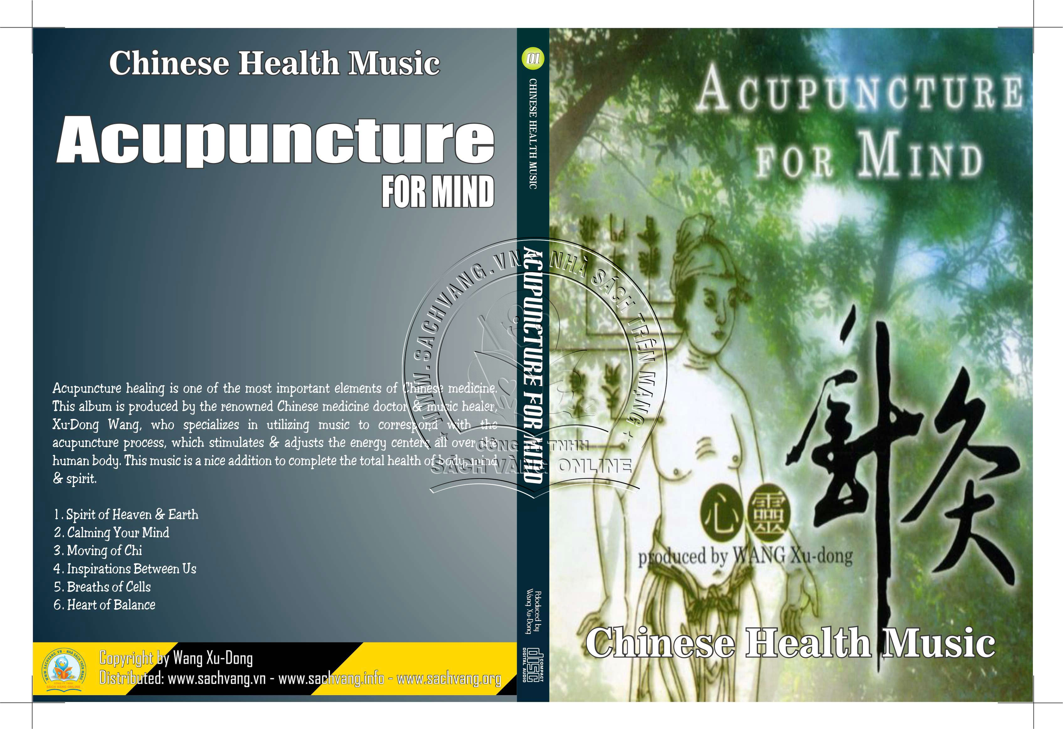 Chinese Health Music - 01 - Acupuncture for mind