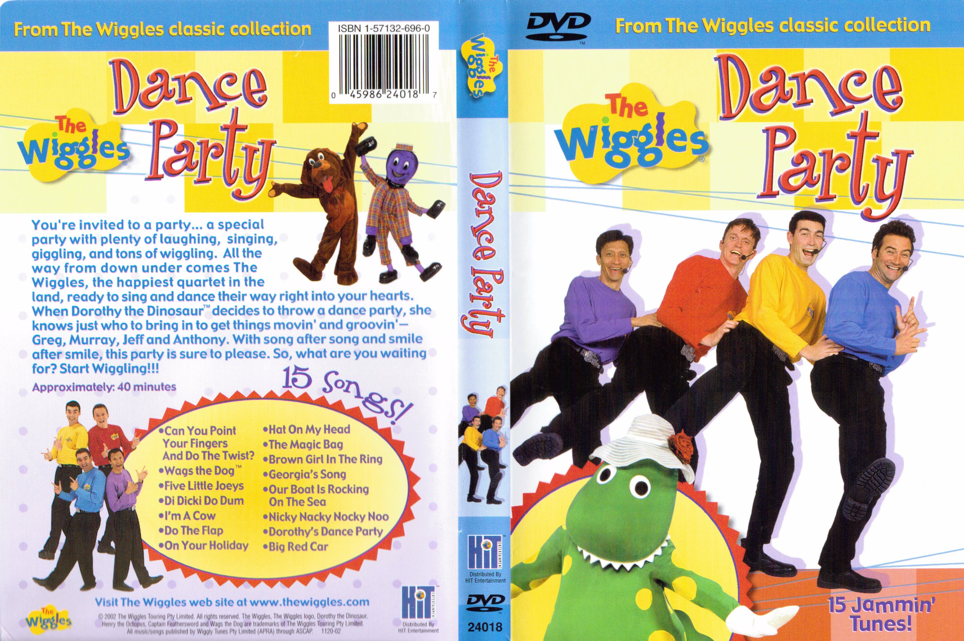 The Wiggles - Dance Party cover