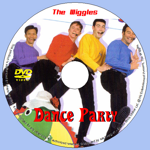 The Wiggles - Dance Party lebel