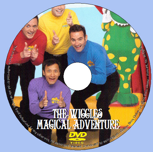 The Wiggles - Magical Adventure lebel