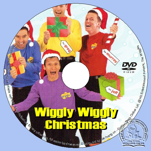 The Wiggles - Wiggly Wiggly Christmas lebel DVD