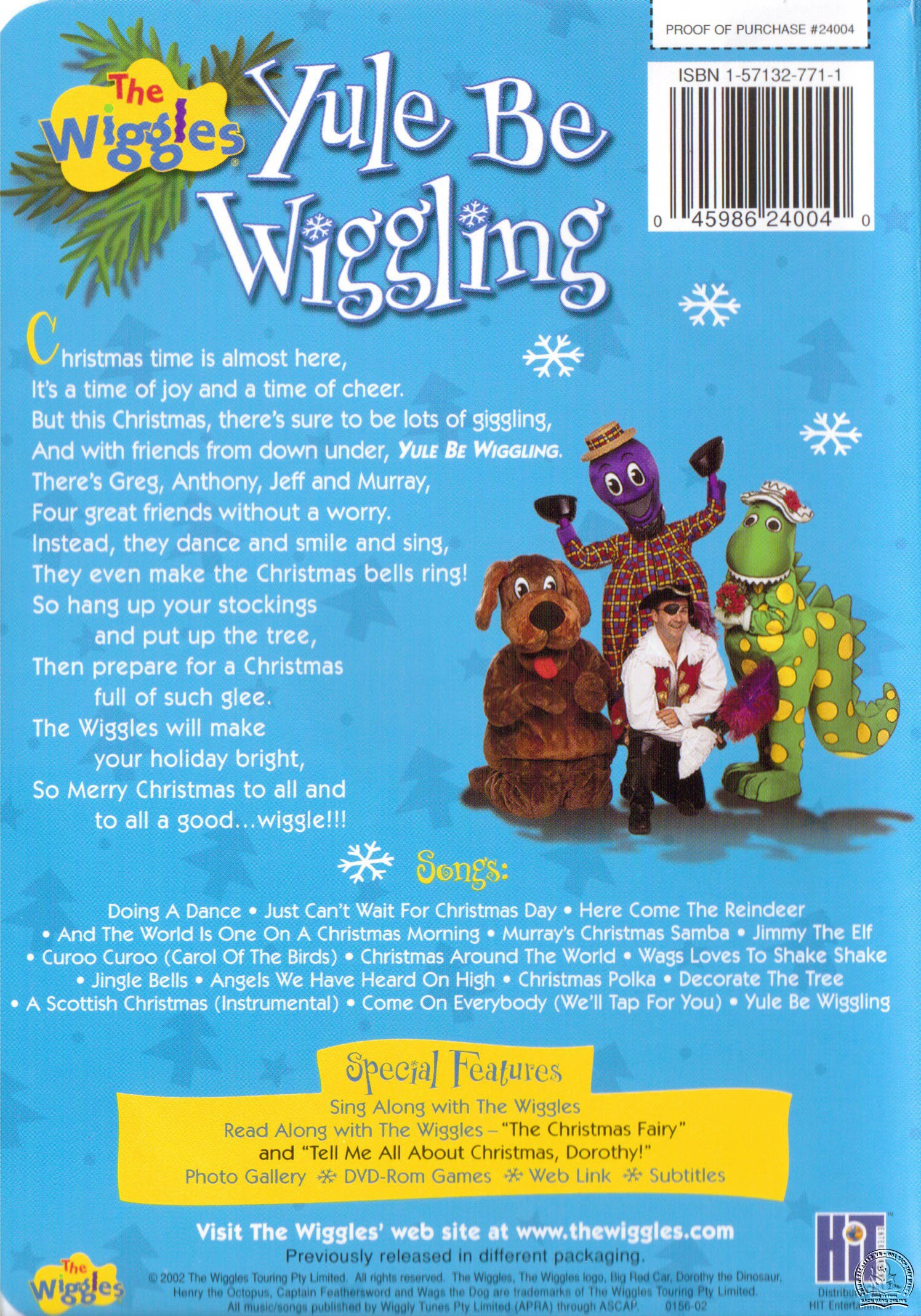 The Wiggles - Yule Be Wiggling back