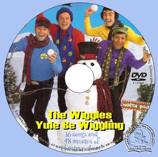 The Wiggles - Yule Be Wiggling dvd lebel