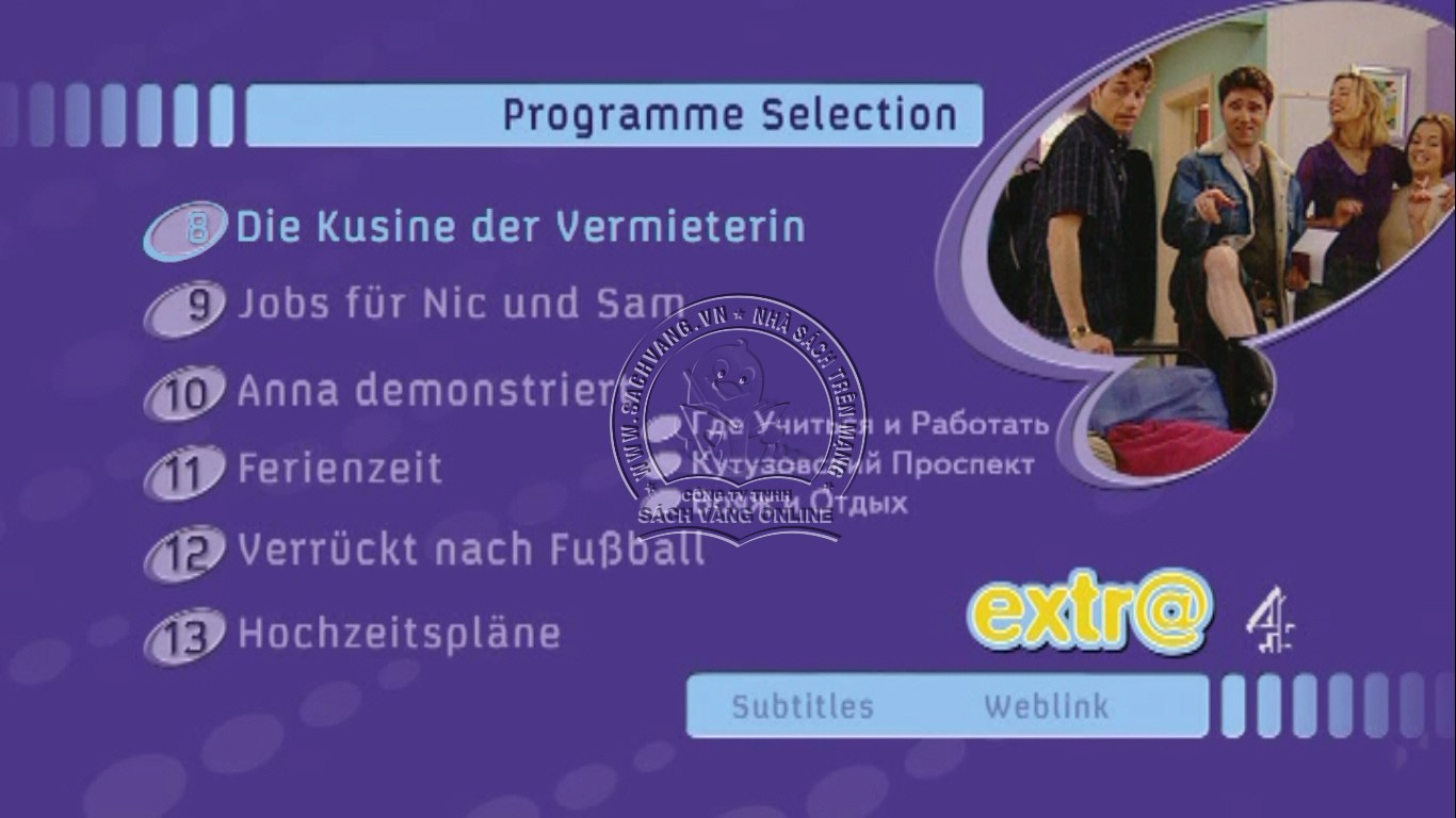 Learn German With Extra - DVD Menu 2