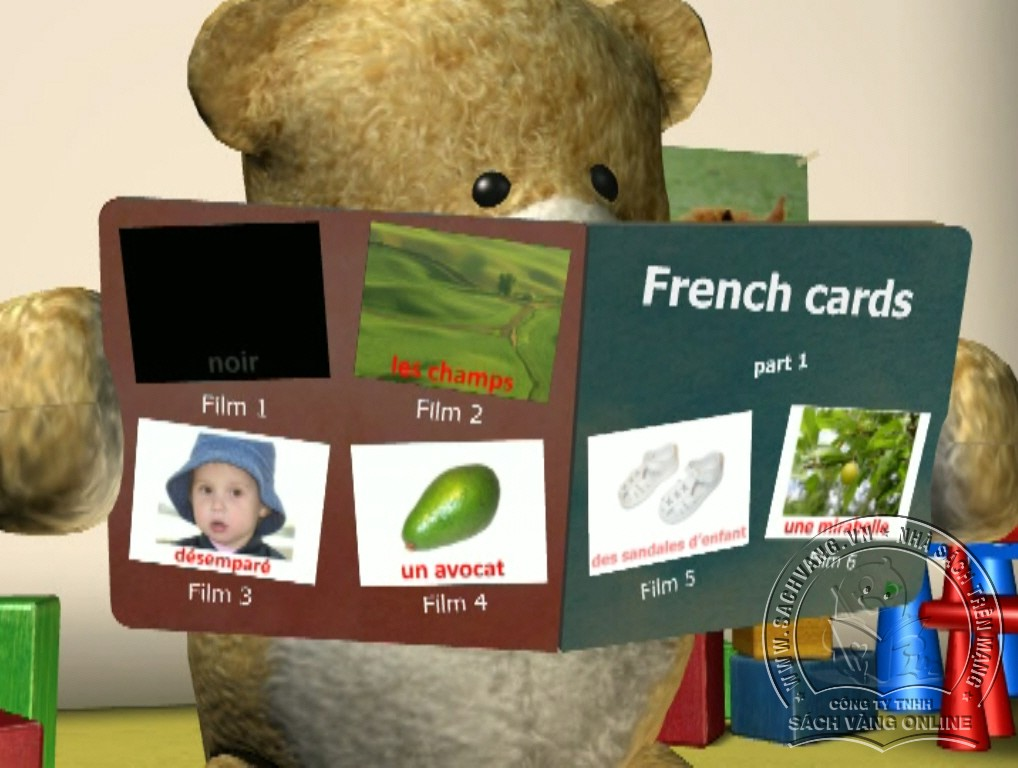 Learn French With French Cards - 1