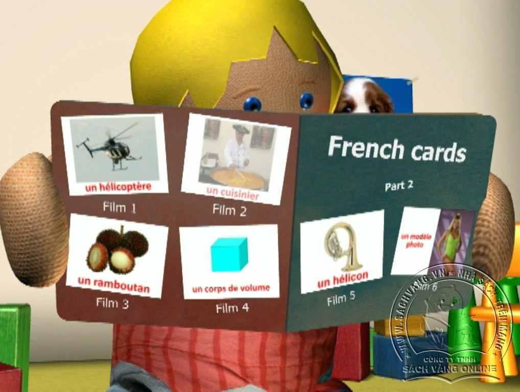 Learn French With French Cards - 2