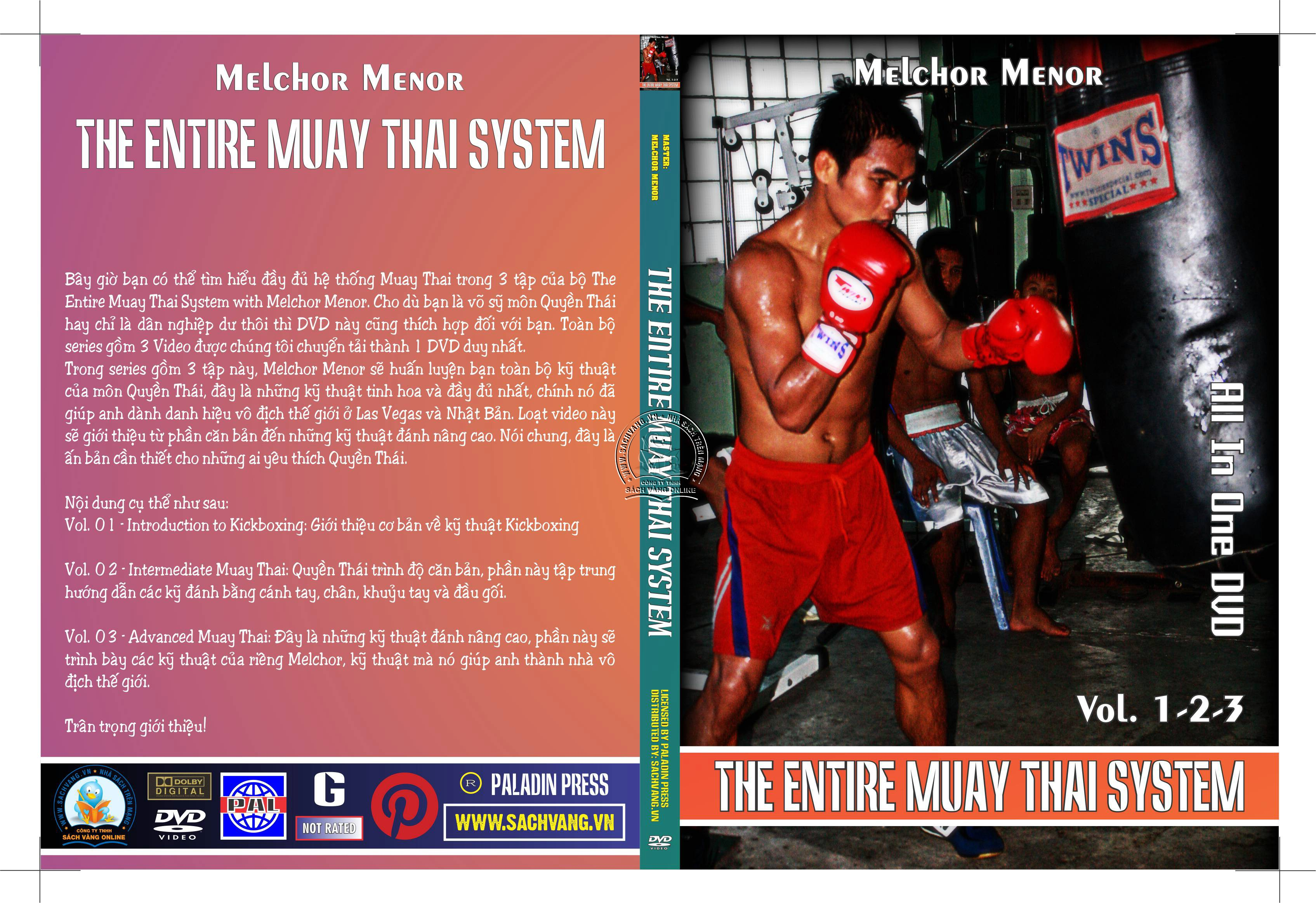The Entire Muay Thai System With Melchor Menor - Luyện Muay Thai Toàn Tập - cover