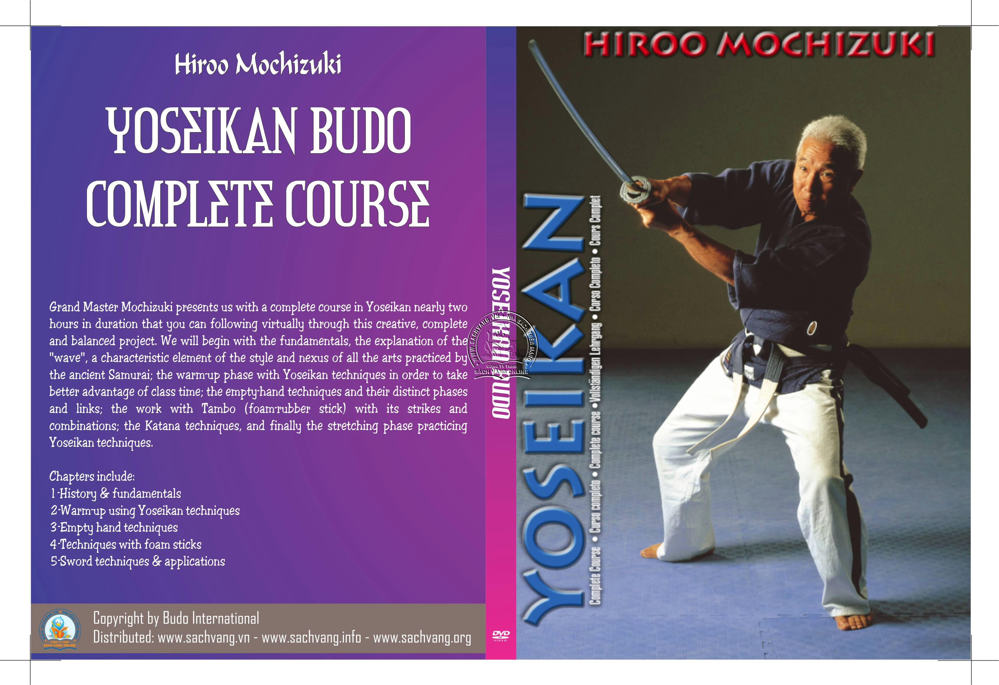 Yoseikan Budo Complete Course with Hiroo Mochizuki cover