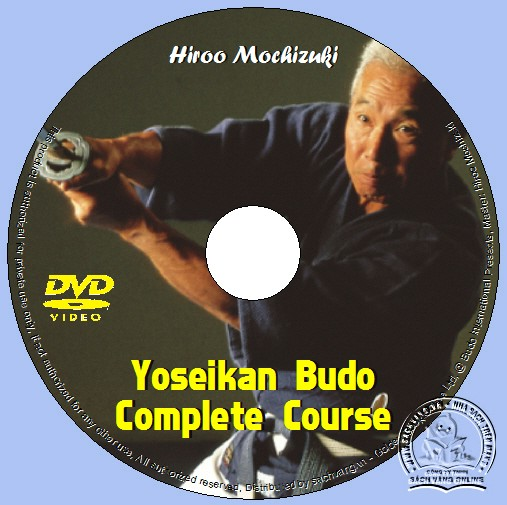Yoseikan Budo Complete Course with Hiroo Mochizuki lebel