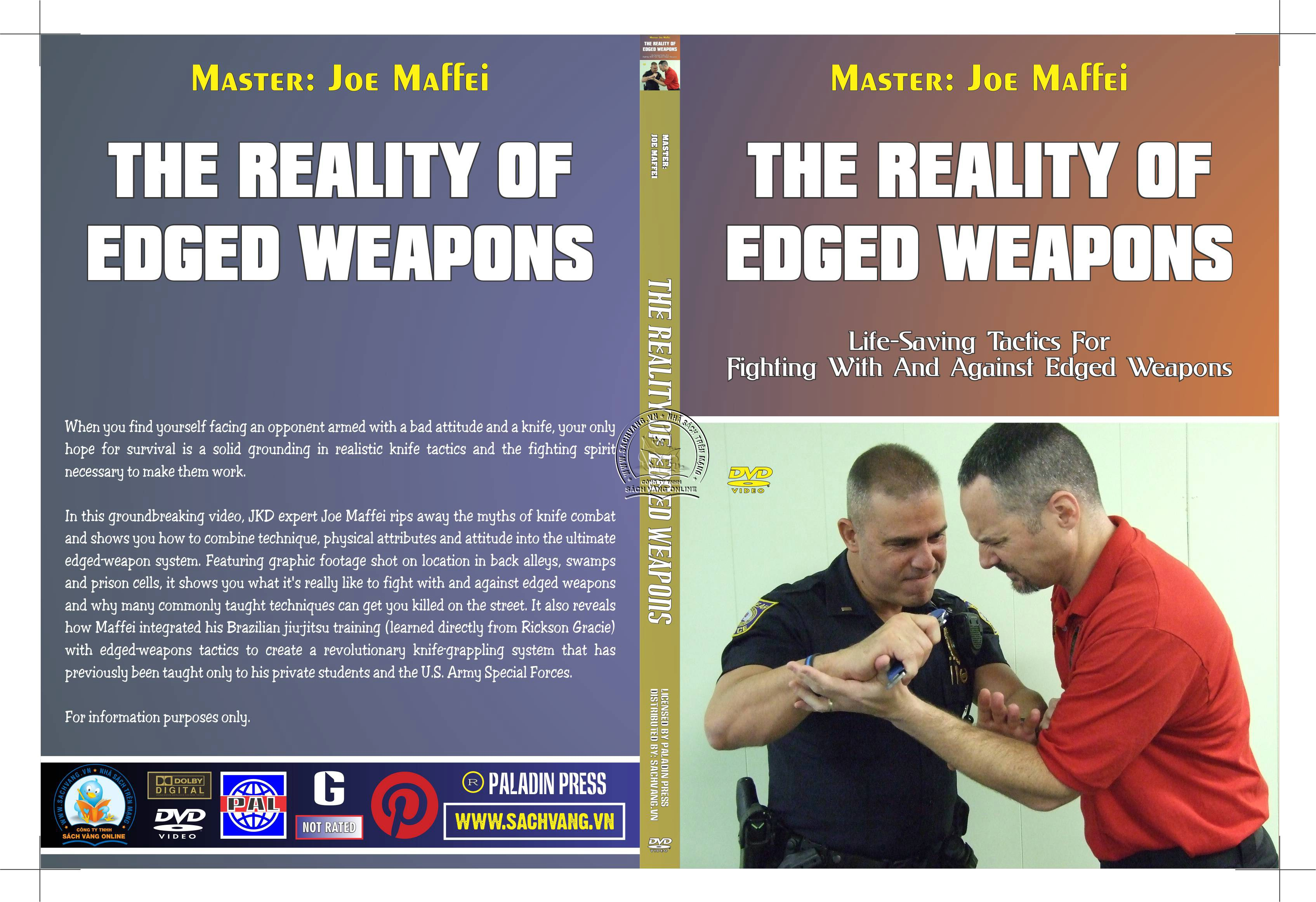 The Reality of Edged Weapons with Joe Maffei - Phương Pháp Chống Dao Thực Dụng - cover