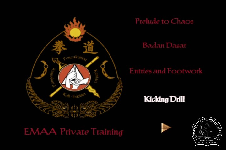 Silat Private Training by Bobbe Edmonds - Tự Luyện Silat Tại Nhà - Pictures 01
