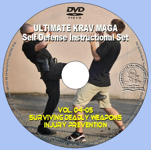 Ultimate Krav Maga Self-Defense Instructional Set lebel 04