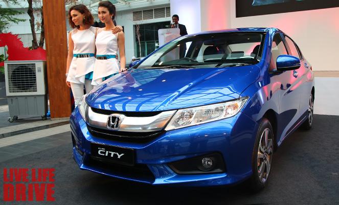 Honda City 2015 Hoàn toàn mới, ra mắt tại Malaisy a