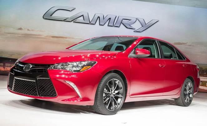 Toyota Camry 2015 Tại Mỹ