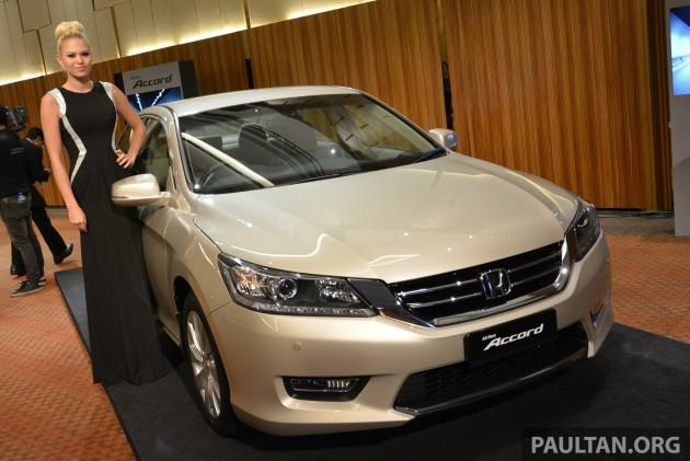 Honda Accord 2014 ra mắt tại Malaysia