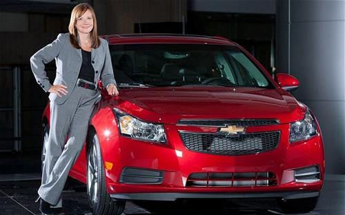 Nữ tướng GM nằm trong Top 100 người quyền lực