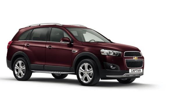 Chevrolet Captiva 2014 chính thức có giá 939 triệu đồng