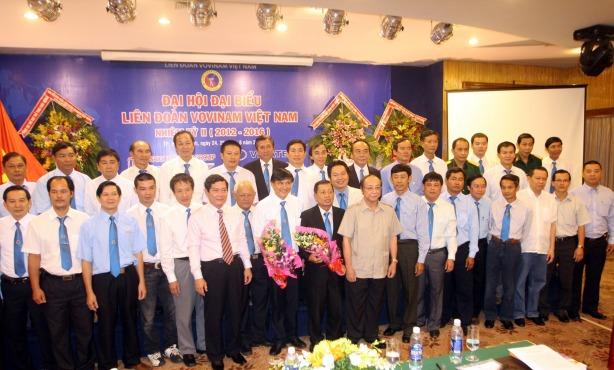 Đại hội đại biểu Liên đoàn Vovinam Việt Nam nhiệm kỳ II ( 2012-2016 ) - Congrès de la VVF au 2ème mandat ( 2012-2016 )