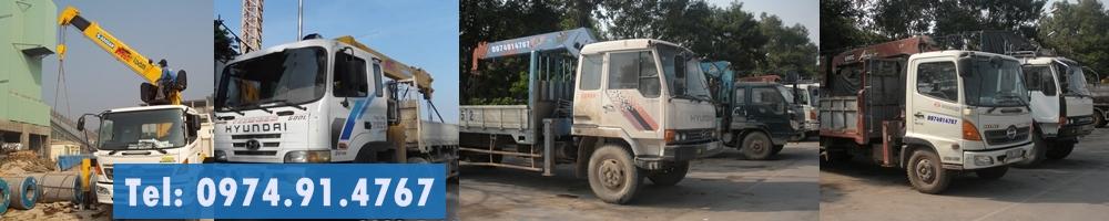 dịch vụ cho thuê xe tải gắn cẩu
