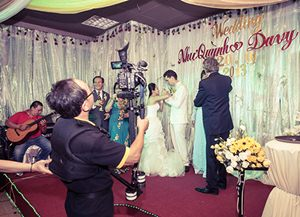 Kịch bản quay phim cưới hỏi