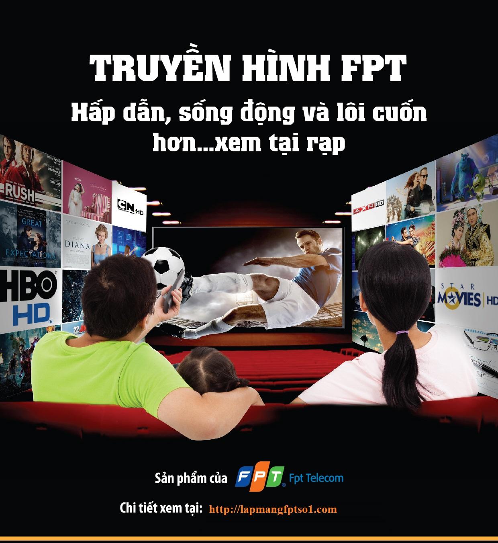 Lắp Truyền Hình HD FPT Tại Hồ Tùng Mậu